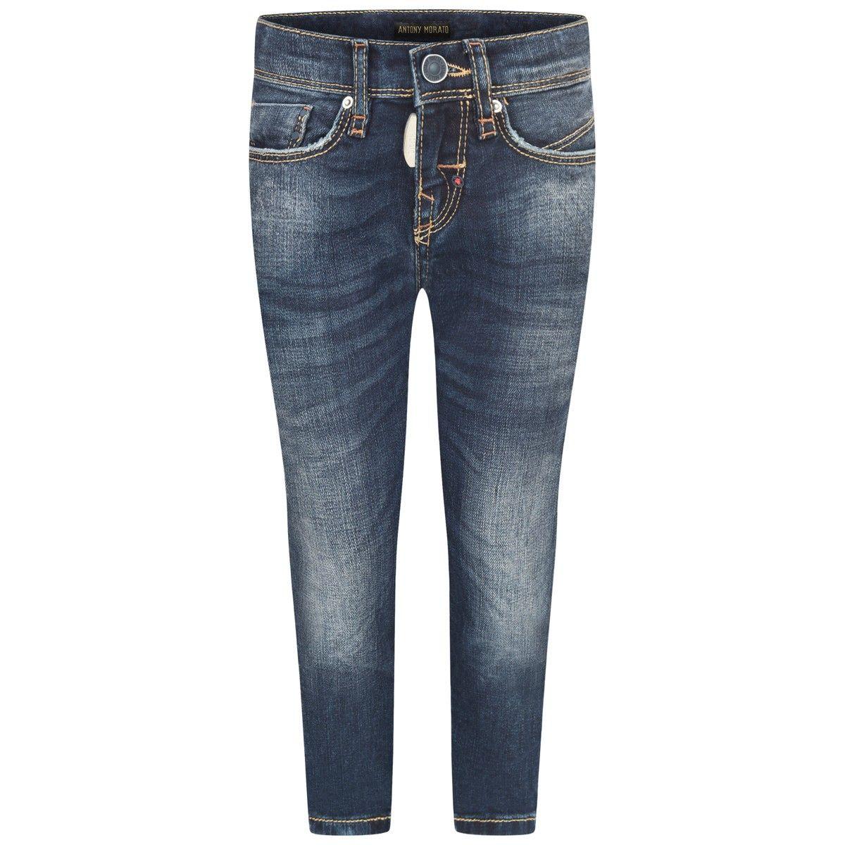 c7e0bfb6318fee Antony Morato Boys Blue Super Skinny Don Giovanni Jeans | Antony ...