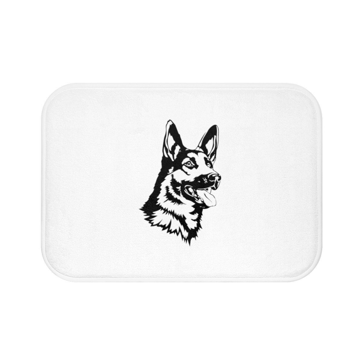 German Shepherd Bath Mat   Bath mat, German shepherds and Products