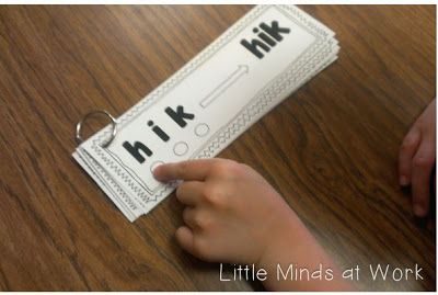 RTI & Guided Reading {Nonsense Words Activities} and a FREEBIE - Little Minds at Work