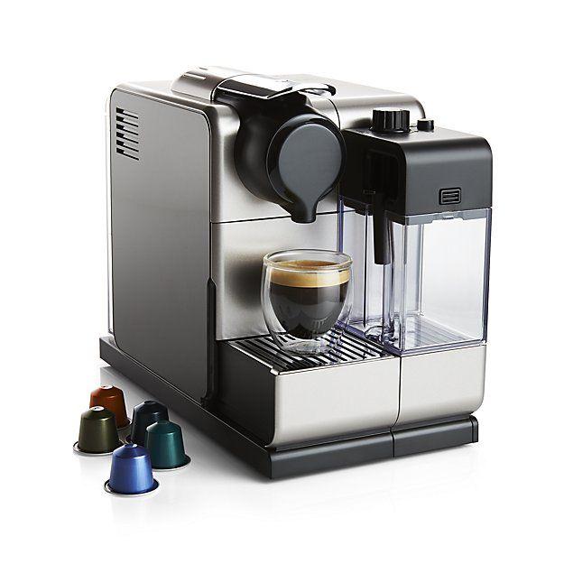 Delonghi Nespresso Lattissima Touch Espresso Maker Crate And Barrel Espresso Maker Best Espresso Machine Nespresso Lattissima