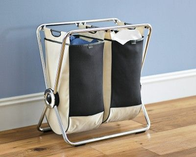 Simplehuman Double Laundry Hamper Williamssonoma