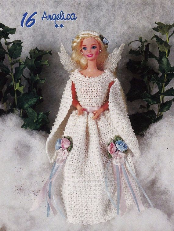 Angelica, Fashion Doll Clothes Crochet Pattern Pages BYOB Build Ur ...