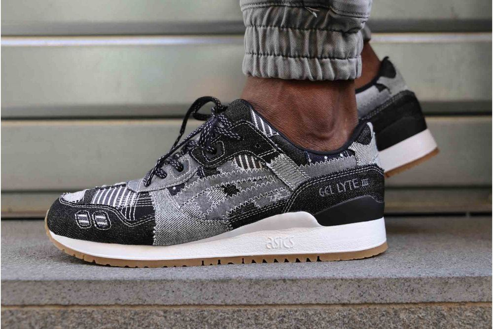 more photos 9f8da 33e80 ASICS GEL LYTE III PEACOAT & ALUMINIUM SNEAKERS IN ALL SIZES ...