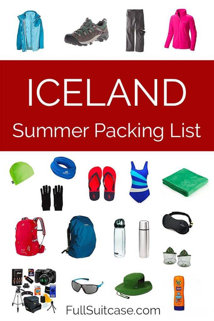 What to Wear and What to Pack for Iceland in Summer ...