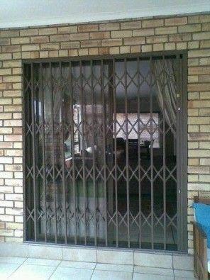 Expandable Security Doors Windows Burglar Bars And Swing Gates Security Gates Trellis Gates 1800 X 2100 Burglar Bars Security Door Iron Security Doors