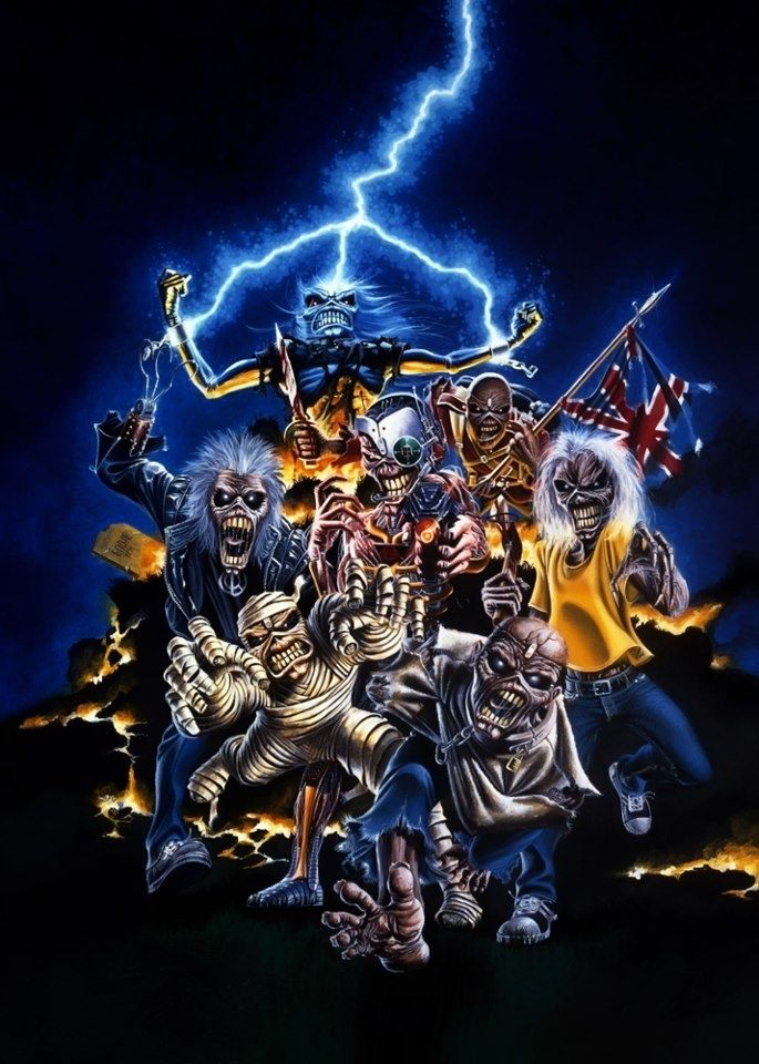 60 Best Iron Maiden Wallpaper For Android And Iphone Hd My Music