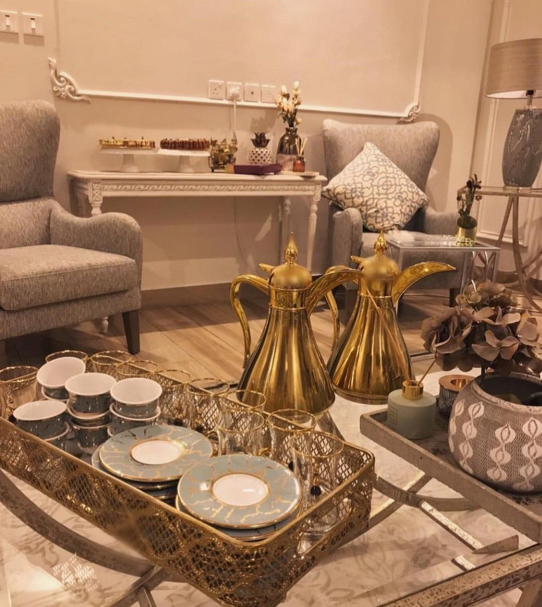 ضيافه قهوه Decor Table Decor Living Room Living Room Design Decor