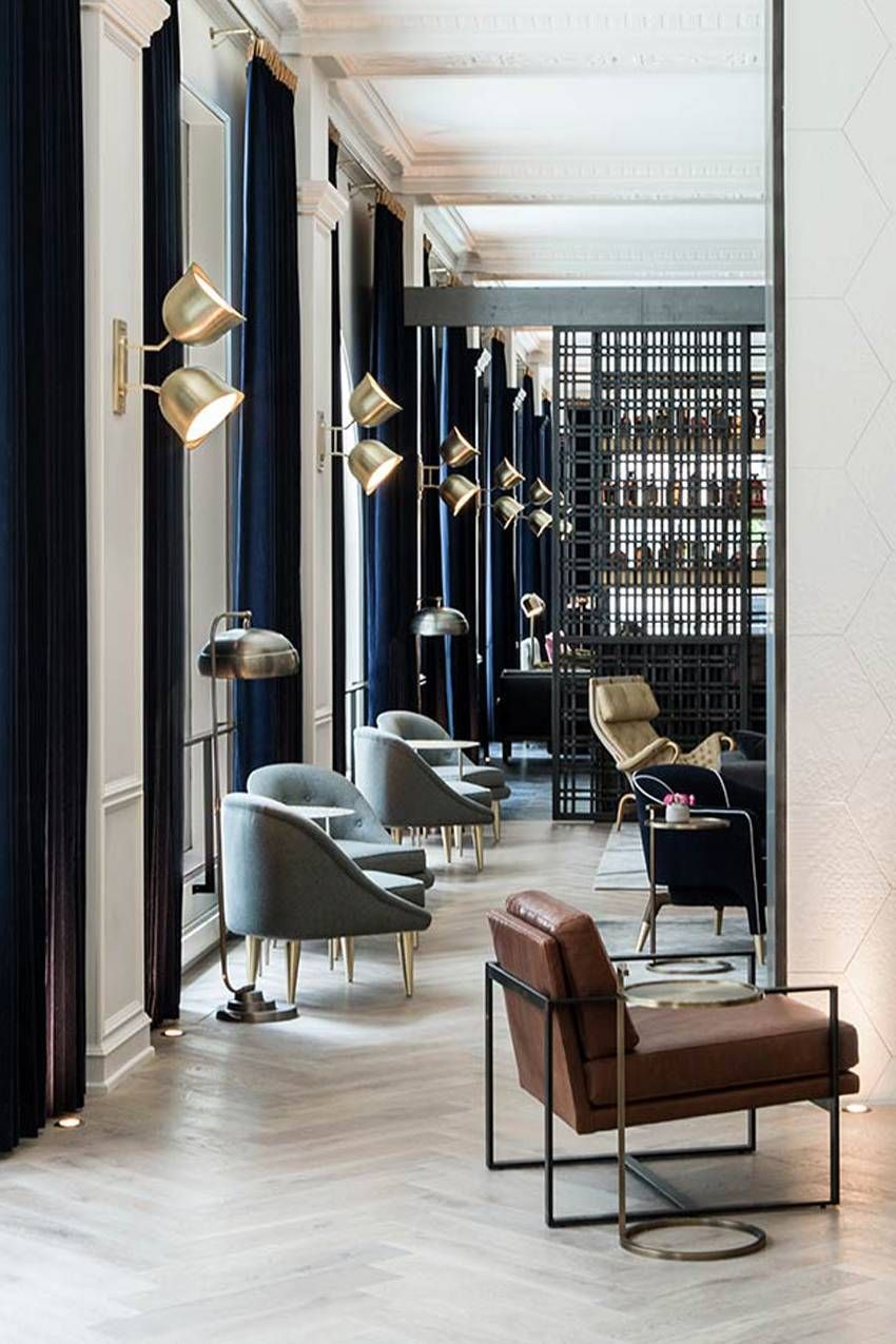 The Best Hotels In Chicago Will Make You Want To Sleep In Luxury Hotel Design Hotel Interior Design Lounge Design