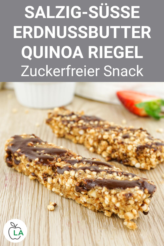 Quinoa Riegel: Selbstgemachter Energieriegel für zwischendurch