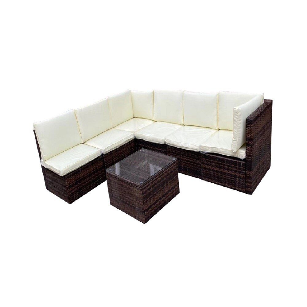 Sokoltec High End Outdoor Sectional Sofas Teak Frame Patio Garden Furniture Rattan Wicker Sofa Sets Op2450 Https In 2020 Outdoor Sectional Sofa Wicker Sofa Sofa Set