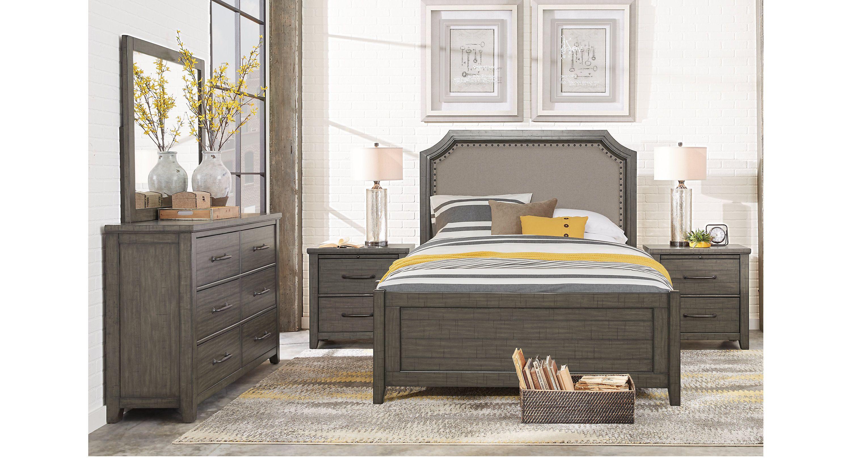 870 Gray Bedroom Set Rooms To Go Best Free