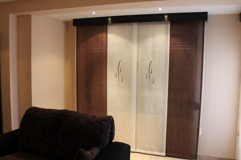 Cortinas paneles japones buscar con google detalles for Galeria cortina leroy merlin
