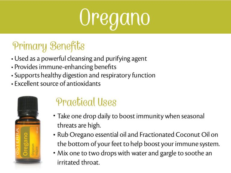 Doterra Oregano Essential Oil Uses With Diy And Food Recipes