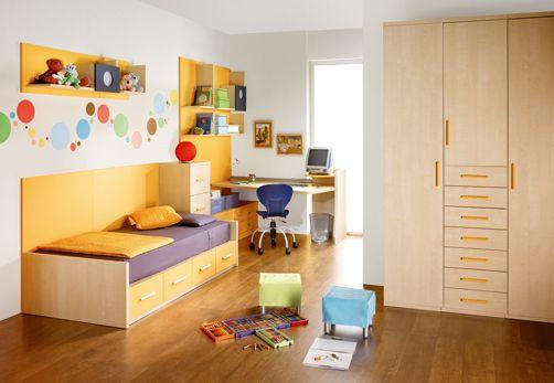 Kids Room Decor Natural Bolinhas Na Parede Simple Kids Rooms