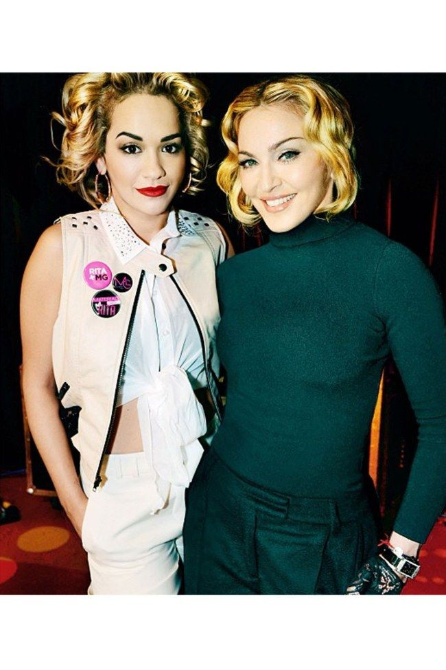 Madonna Hires Rita Ora Madonna Material Girl Material Girls