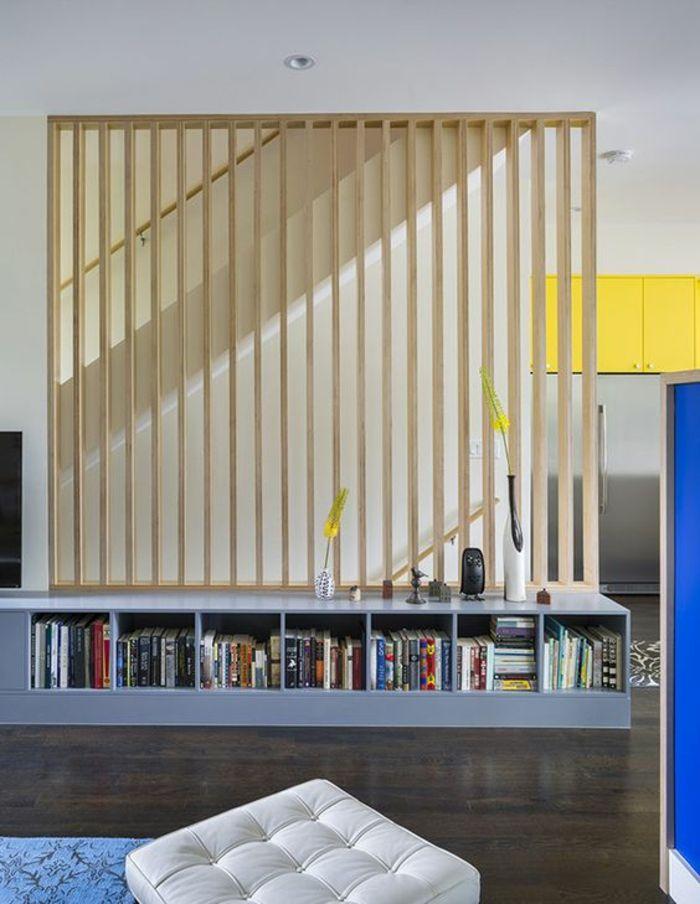 ▷ 1001+ Idées pour la séparation chambre salon + des intérieurs - garde meuble pas cher ile de france