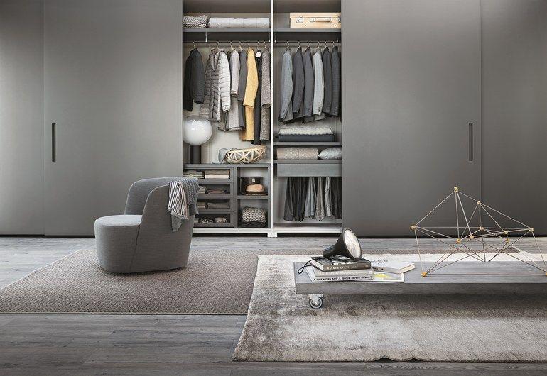 Great ELLEVI Kleiderschrank mit Koplanaren T ren by Lema Design Officinadesign Lema