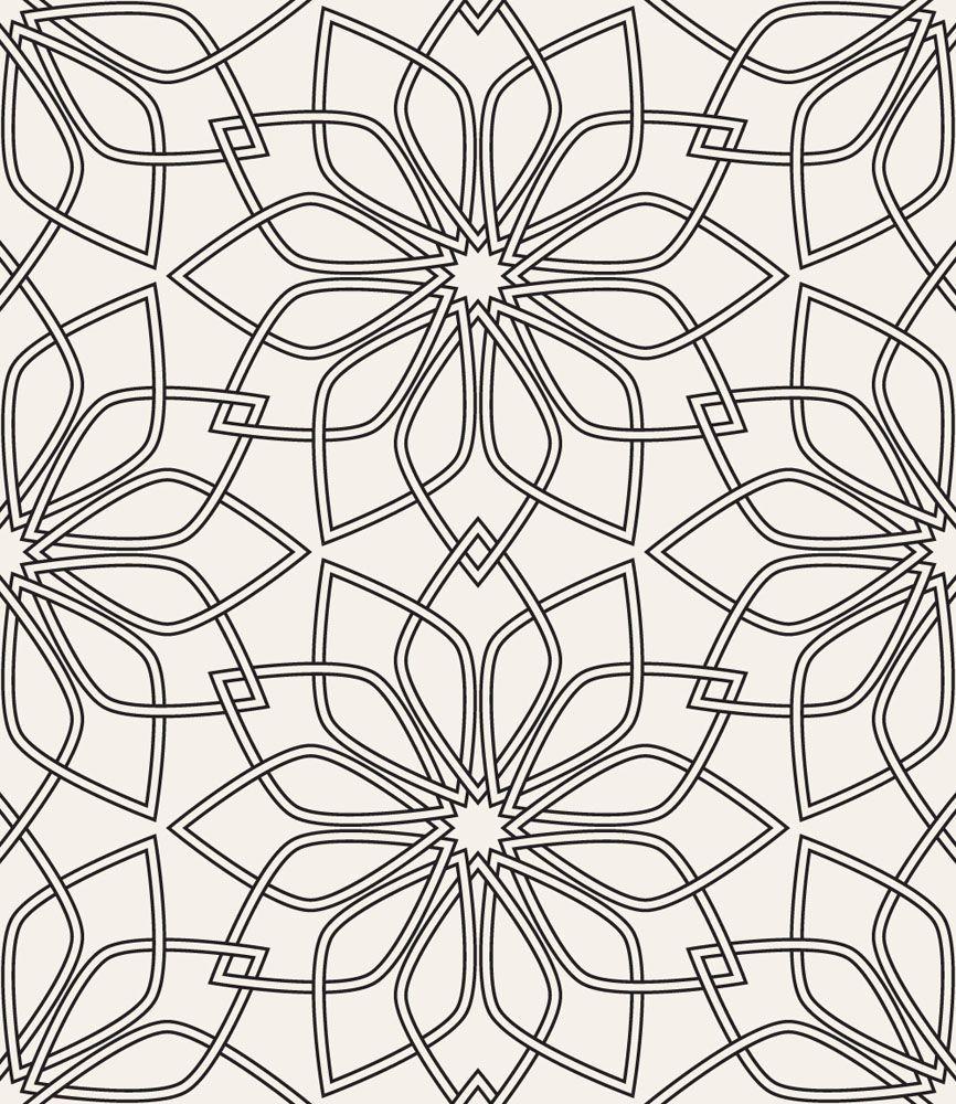 Papel De Parede Floral 1779 Mandalas Pinterest Sketches And  -> Papel De Parede Sala Floral
