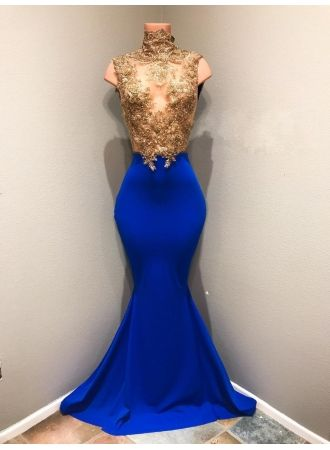 ea261ea5171 Shiny Sleeveless Mermaid Prom Dresses