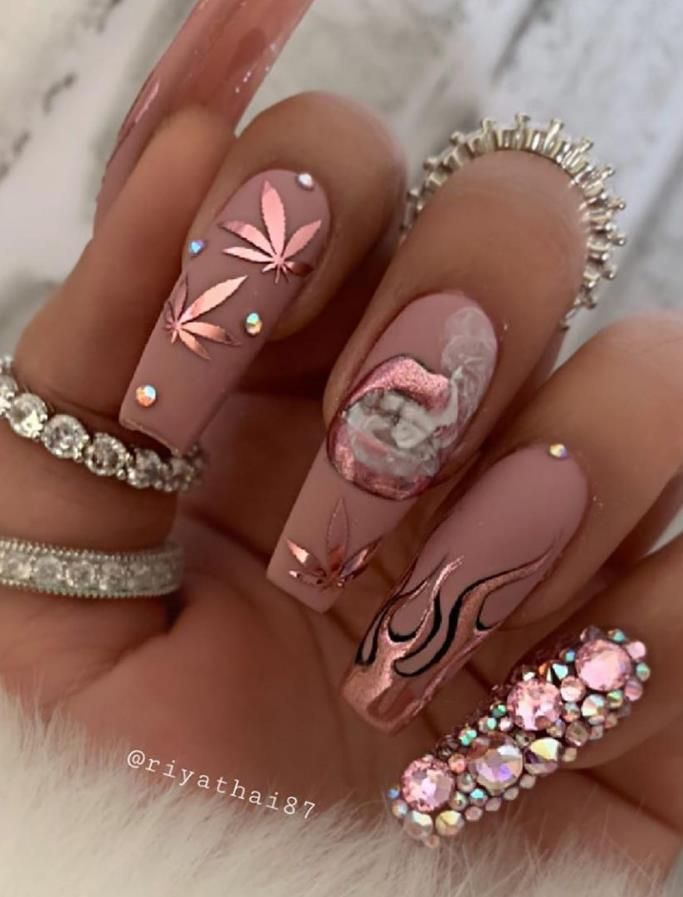Photo of Special Flower Acrylic Coffin Nails Art Designs For Summer 2020 – Lily Fashion Style