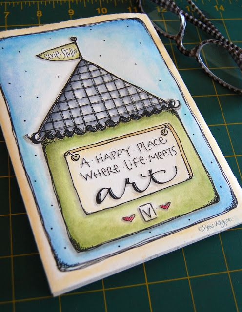 Great journal cover art by Lori Vliegen.