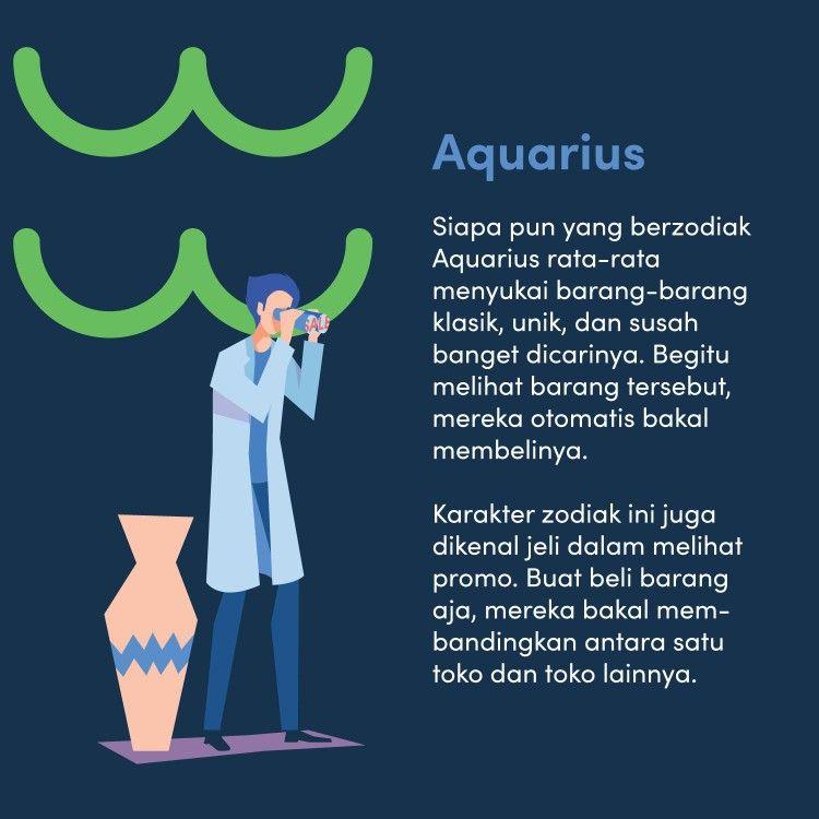 Lembutnya Zodiak Aquarius