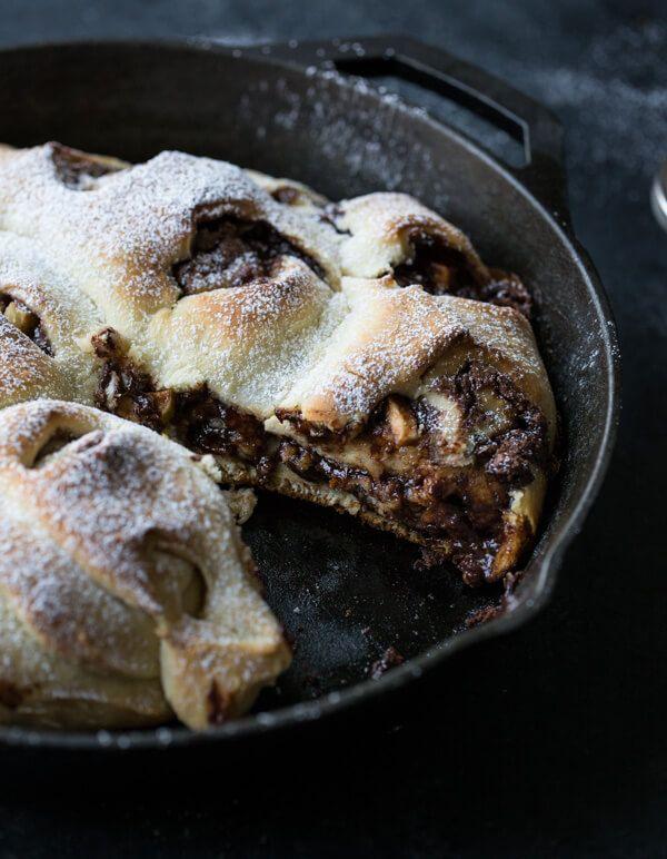 Nutella Apple Cinnamon Swirl Bread