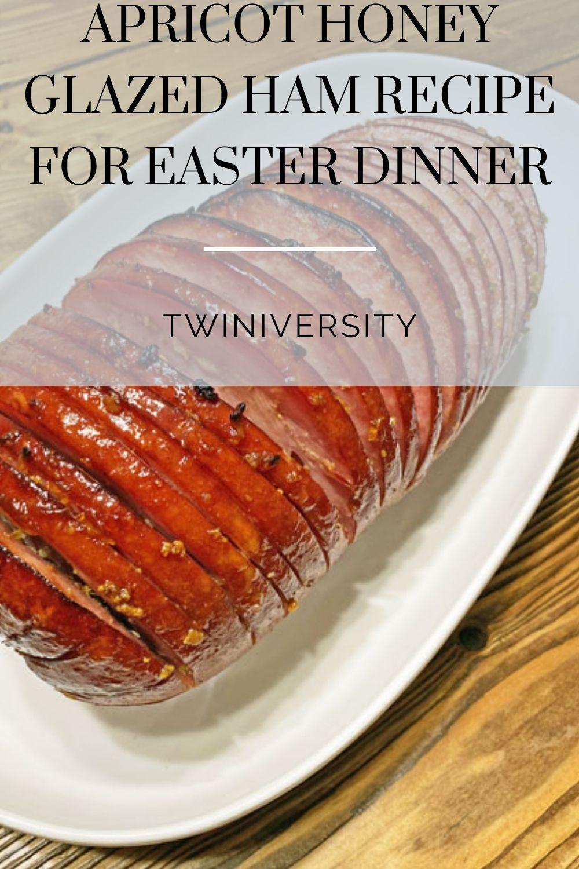 apricot honey glazed ham recipe for easter dinner