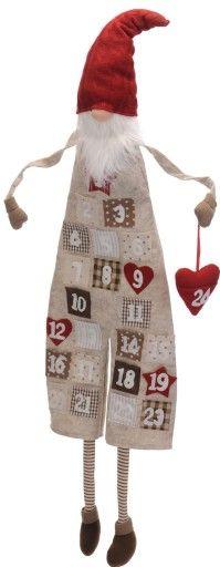 Kalendarz Adwentowy Duzy Gnom Z Kieszonkami Bez 6994565378 Oficjalne Archiwum Allegro Advent Calenders Crafts Diy And Crafts