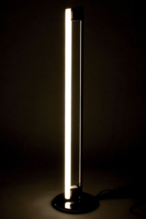 Fluorescent tube floor lamp by eileen gray aloadofball Image collections