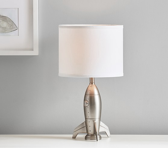 Rocketship Table Lamp In 2020 Table Lamp Lamp Pottery Barn