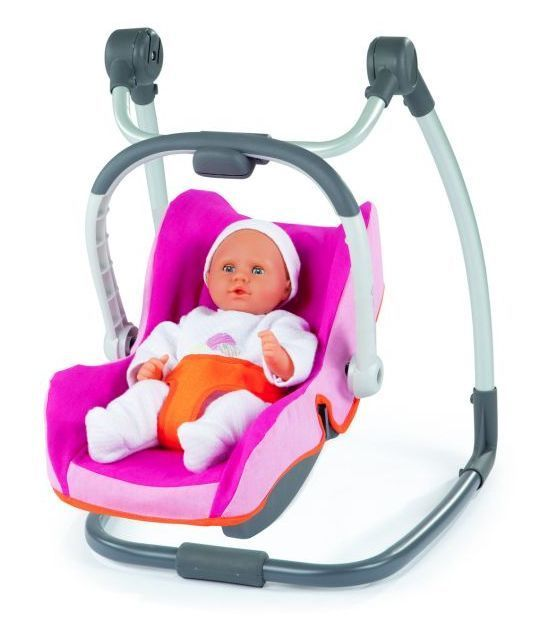 Smoby pico maxi cosi quinny - baby dolls car seat carrier high chair