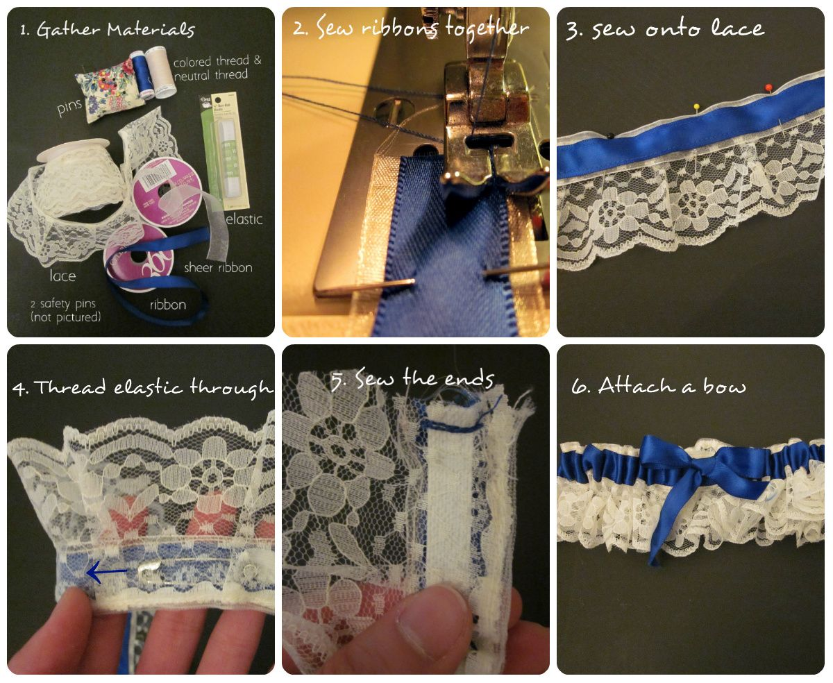 DIY: Sew A Garter For Prom
