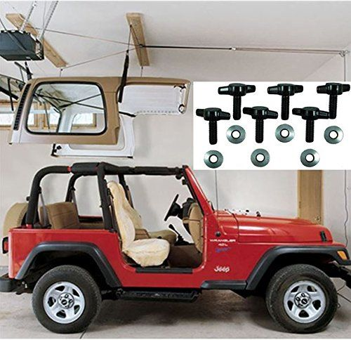 Jeep Hardtop Storage Harken Hoist Jeep Lift With Bonus 6 Https Www Amazon Com Dp B074dcjyvk Ref Cm With Images Jeep Hardtop Storage Lifted Jeep Jeep Wrangler Models