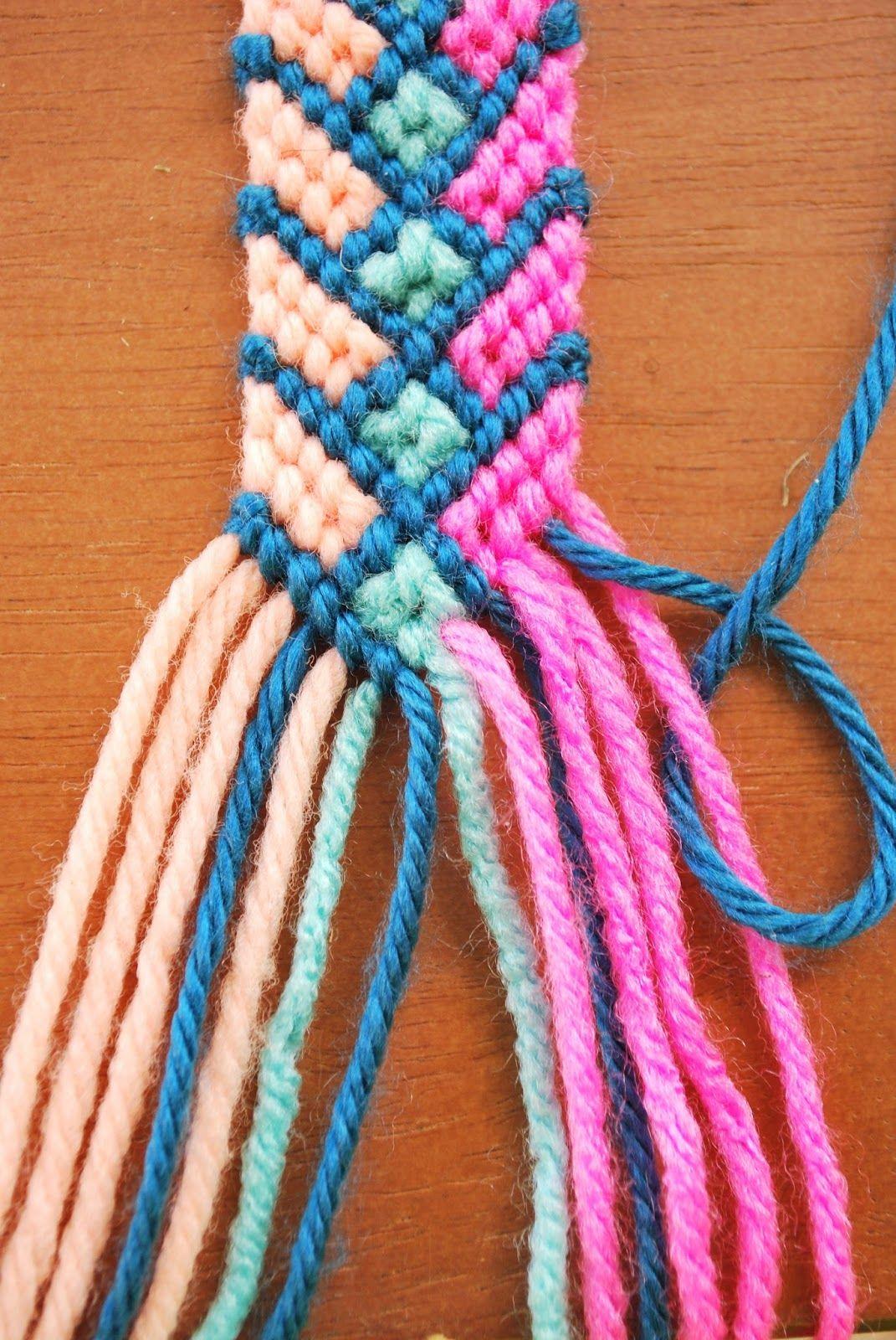 18++ Craft project ideas friendship bracelet patterns ideas