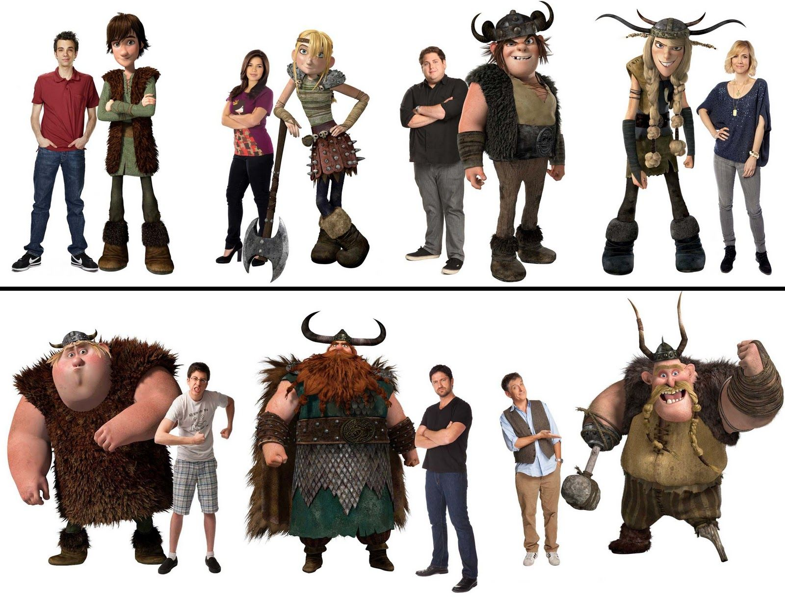 How To Train Your Dragon Characters