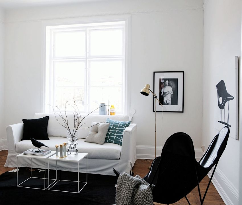 Inspiring Homes Black And White In Malmo