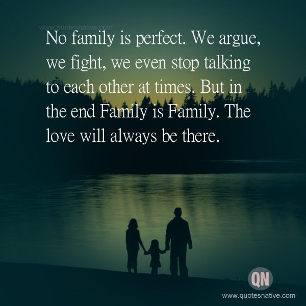No Family Is Perfect Family Quotes Family Quotes Quotes