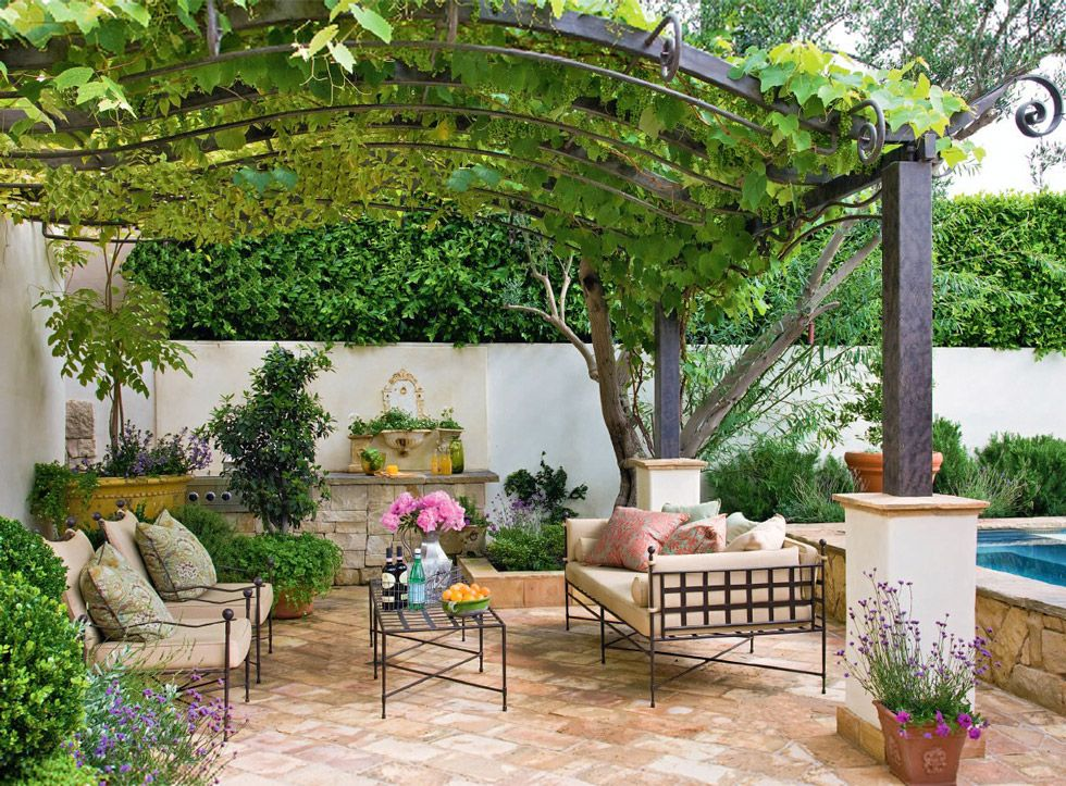 Giardino rustico • Guida & 25 idee per un giardino ricco