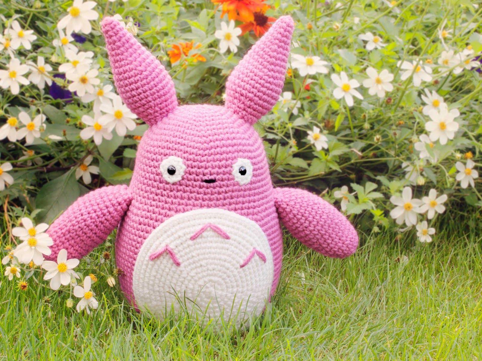 Amigurumi Totoro (enlace a patrón)   totoro   Pinterest   Totoro ...