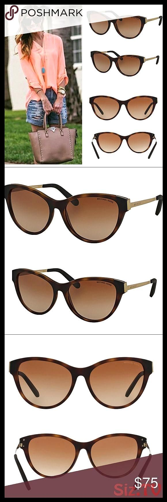 MICHAEL KORS CAT EYE PUNTE ARENA SUNGLASSES BROWN New in case with cloth 038 papers Michael Kors MK6014 Punte Arenas Color 302113 DK Tortoise Soft TouMICHAEL KORS CAT EYE...