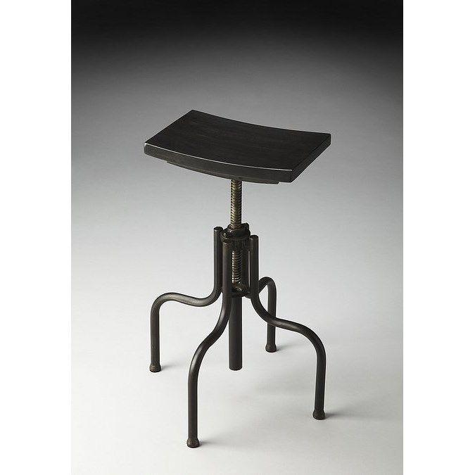 Awe Inspiring Butler 2051025 Metalworks Adjustable Height Revolving Bar Machost Co Dining Chair Design Ideas Machostcouk