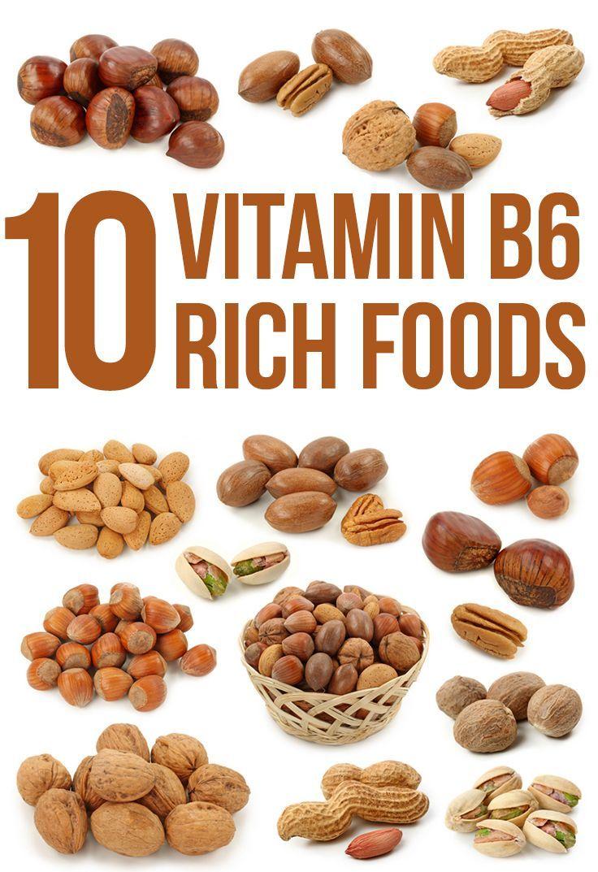 Top 10 Vitamin B6 Rich Foods Vitamin rich foods, Vitamin