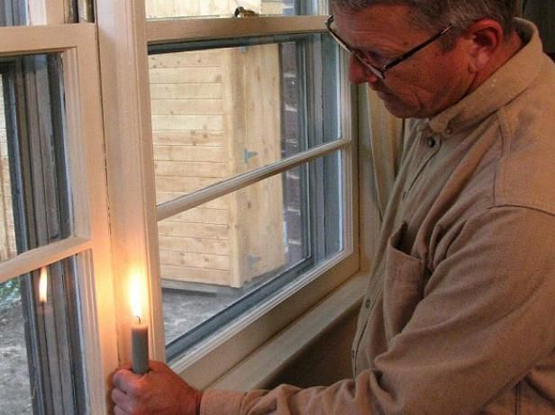 How To Check For Air Leaks And Seal Windows Home Maintenance Diy Home Repair Windows
