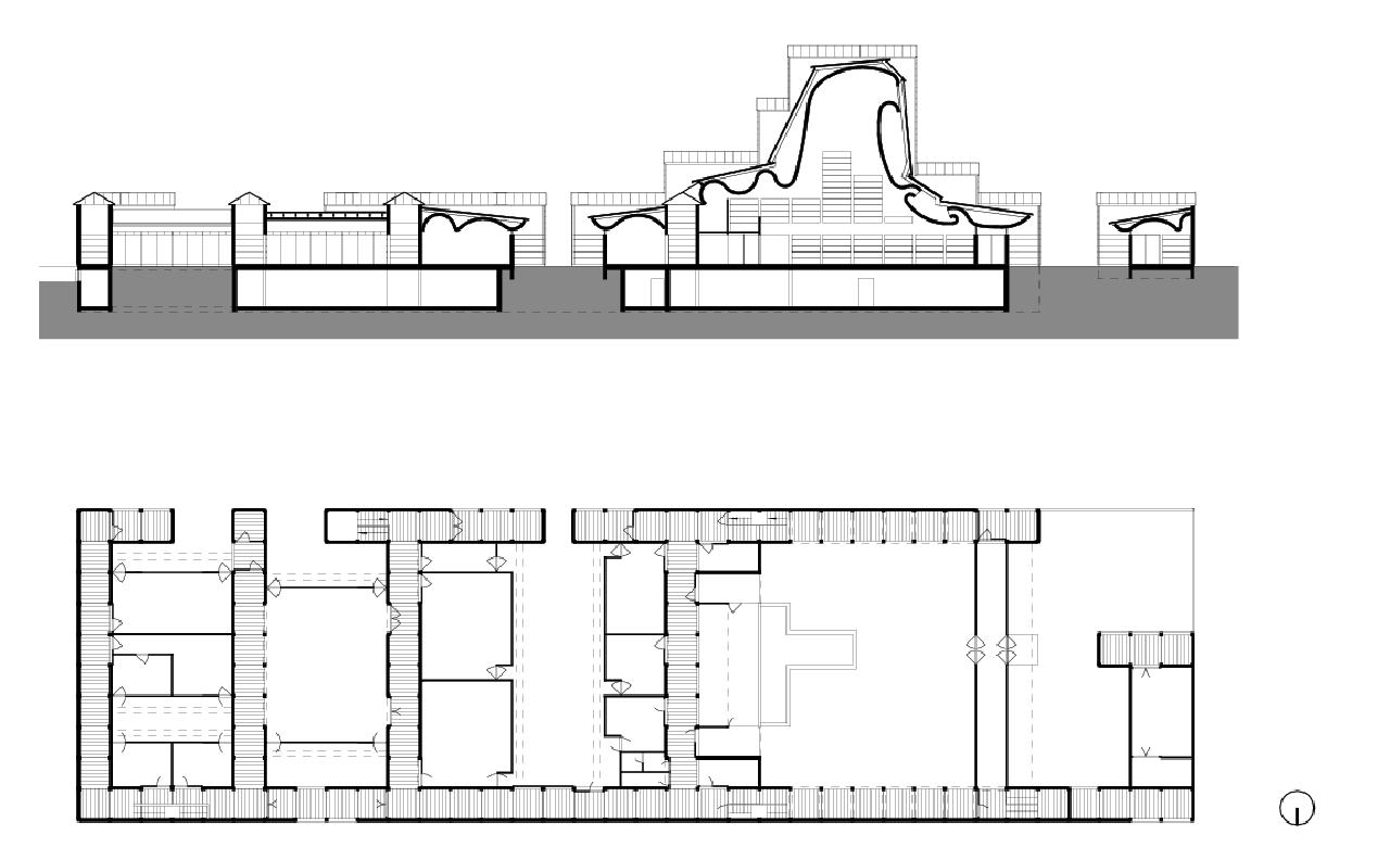 plansofarchitecture bagsvaerd kirke jorn utzon 1976