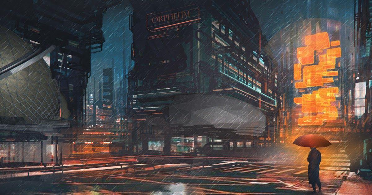26 Anime Rain Wallpaper 4k Wallpaper 4k Rainy Night Man With Umbrella Scifi Drawings Download Rain Wallpapers 8 Rain Wallpapers Neon Wallpaper Rainy Night
