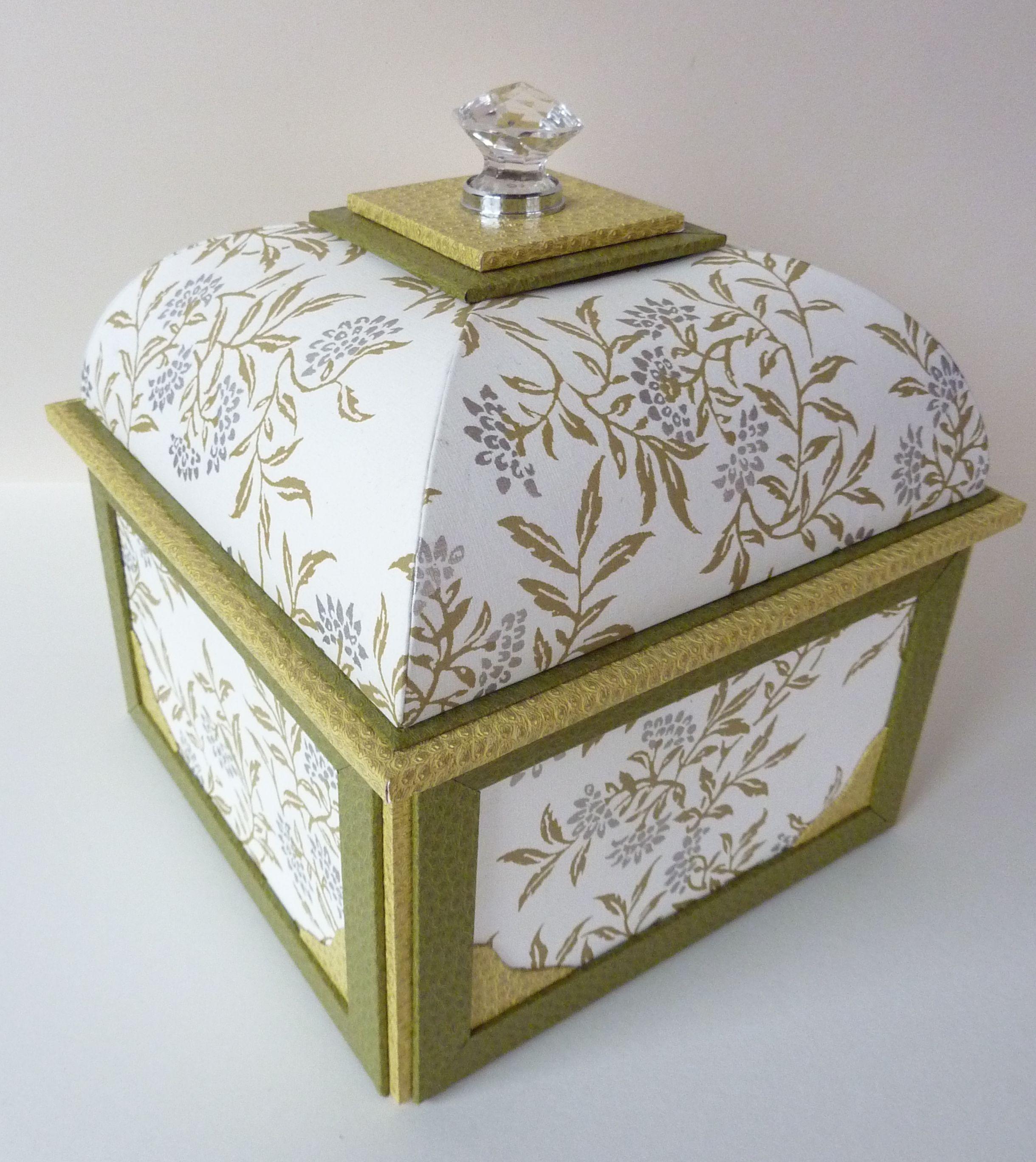 Cartonnage boite mansard r alis e avec le gabarit de gabriel ledu - Gabarit maison en carton ...