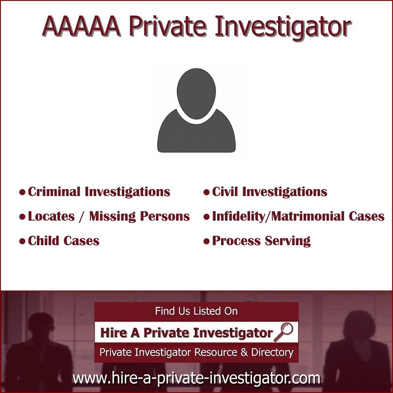 Aaaaa Private Investigator Top Private Investigator In Katy Texas