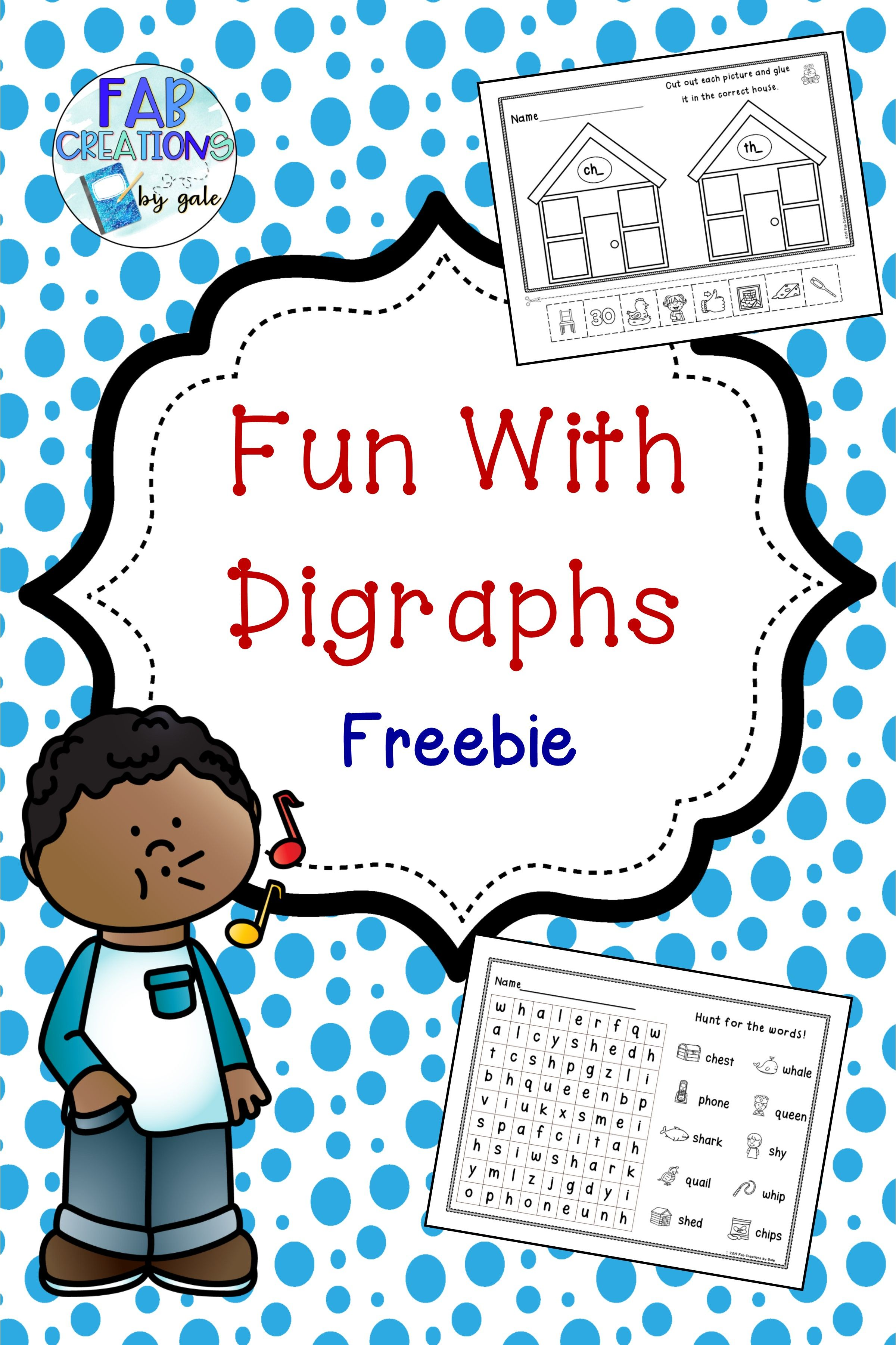 Fun With Digraphs No Prep Sheets With Images