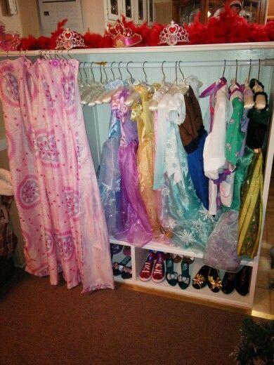 Dress up armoire | Girls dress up, Wardrobe rack, Dress up